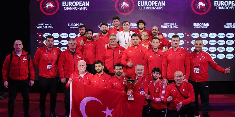 Avrupa Güreş Şampiyonası'nda 8 madalya kazandık