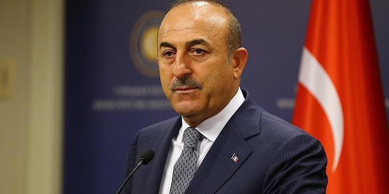 Bakan Çavuşoğlu'ndan KKTC Cumhurbaşkanı Tatar'a taziye telefonu