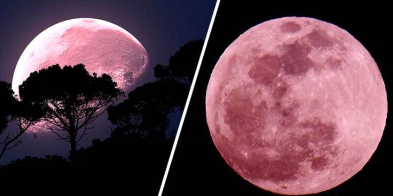 Pembe ay nedir, süper dolunay ne anlama geliyor? Pembe dolunay ne zaman, saat kaçta?