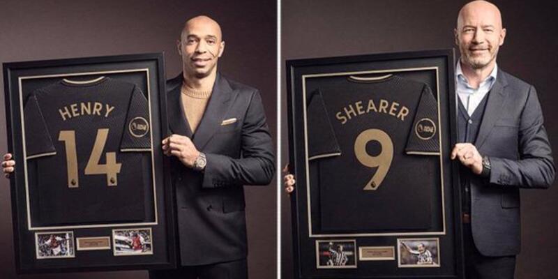 Premier Lig'de Şöhretler Müzesi'nin ilk üyeleri Shearer ve Henry oldu