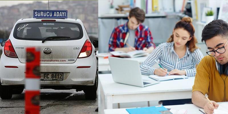 SON DAKİKA: Sürücü kursları dershaneler yasaktan muaf mı? Dershaneler, sürücü kursları açık mı kapandı mı?