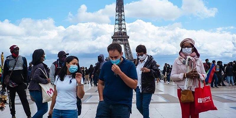 Fransa'da son 24 saatte 30 bin 317 Kovid-19 vakası görüldü