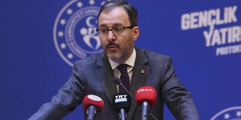 Bakan Kasapoğlu, Kütahya'ya yapılacak gençlik ve spor yatırımlarını açıkladı