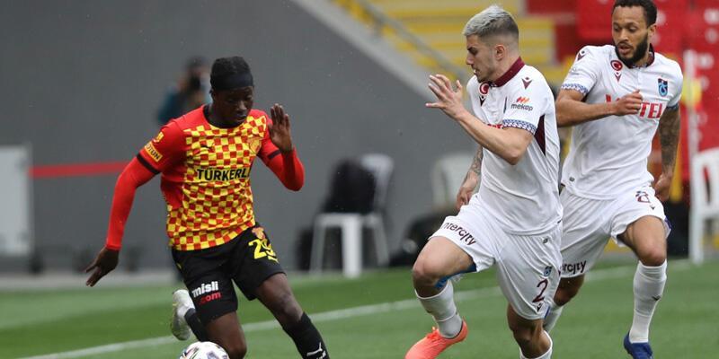 Göztepe - Trabzonspor: 1-1