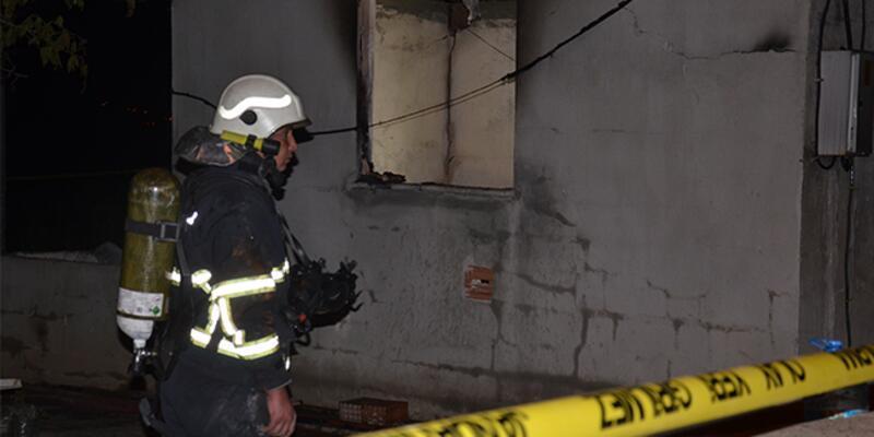 Aydın'da bağ evinde yangın: 1 kişi öldü