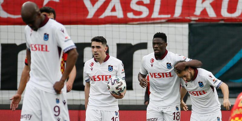 Son dakika... Trabzonspor deplasmanda 15 maçtır yenilmiyor!