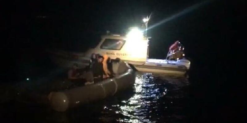 Ayvacık açıklarında 5 kaçak göçmen kurtarıldı