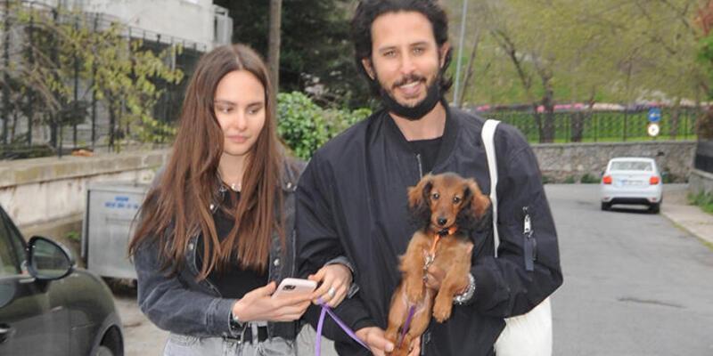 Tuan Tunalı sevgilisine doğum günü hediyesi köpek aldı