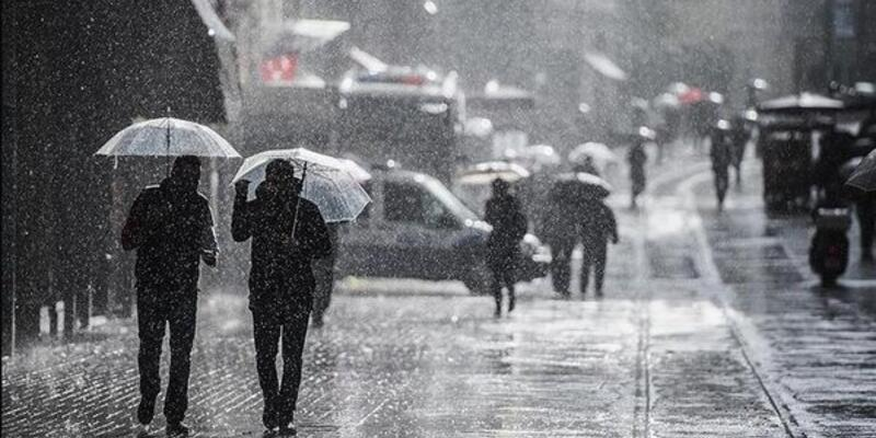 O bölgelere sağanak yağış uyarısı! 30 Nisan 2021 Cuma hava durumu