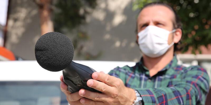 """Kocaeli'de """"gürültü avcıları"""" 3 ayda 126 iş yerinde denetim gerçekleştirdi"""