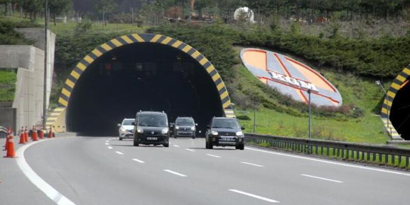 Bolu Dağı Tüneli'nden iki günde 100 bini aşkın araç geçti