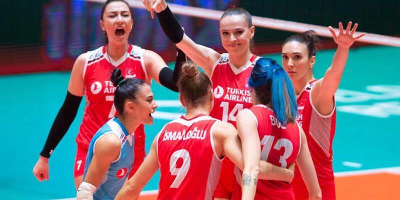 A Milli Kadın Voleybol Takımı'nın maç programı belli oldu