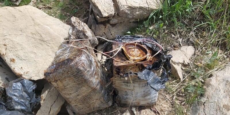 Bitlis'te 90 kilogram el yapımı patlayıcı imha edildi