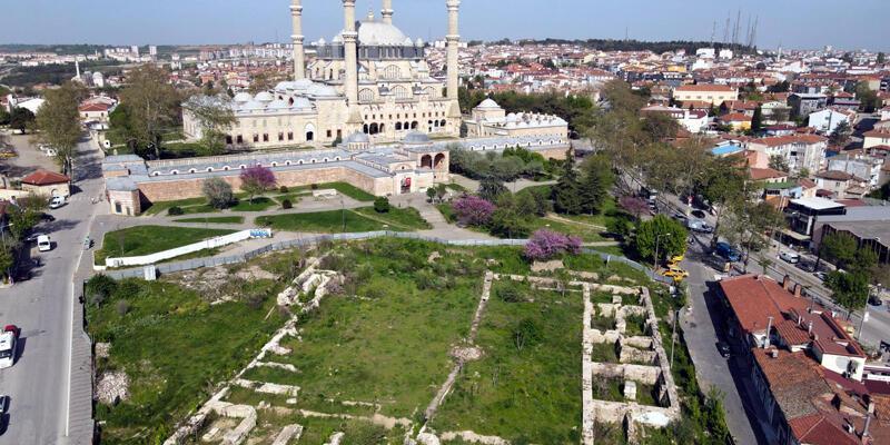 Cumhurbaşkanı Erdoğan talimat verdi; Selimiye Camisi'ne çevre düzenlemesi