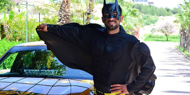 Mersinli Batman ilgi odağı oldu