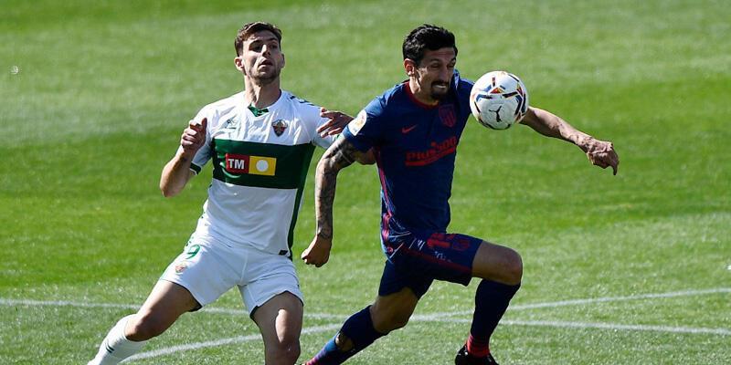 Elche - Atletico Madrid: 0-1