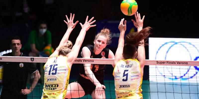 Son dakika... Vakıfbank CEV Şampiyonlar Ligi'nde ikinci oldu!