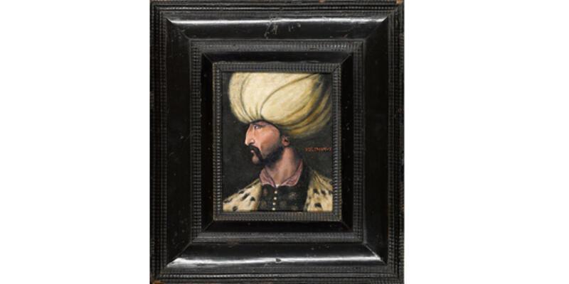 Rekor fiyata alıcı bulan Kanuni Sultan Süleyman portresi, İBB'ye bağışlandı