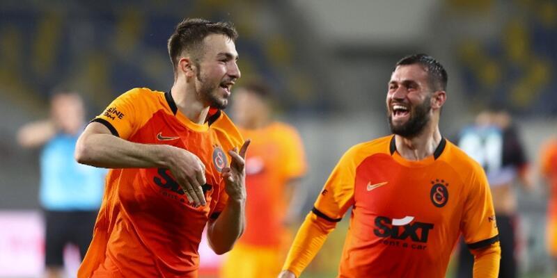 Galatasaray ikinci sıraya yükseldi