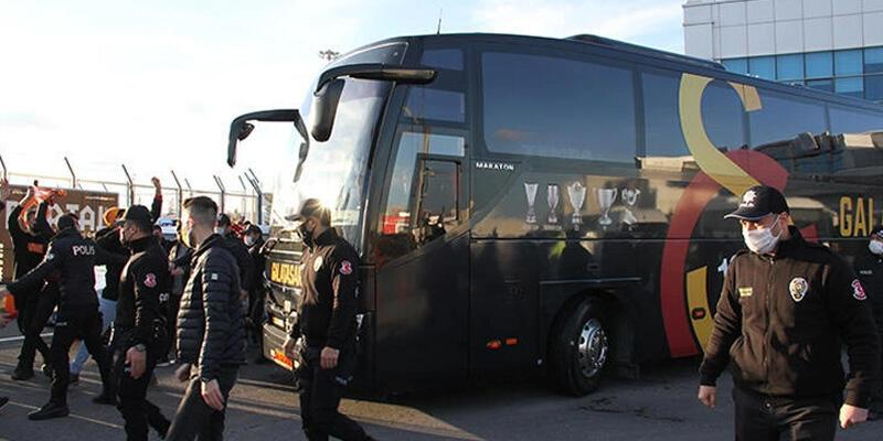 Son dakika... Yöneticiler takım otobüsüne binmedi