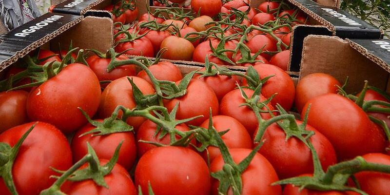 Nisanda fiyatı en fazla artan ürün domates, en çok düşen ise patlıcan oldu