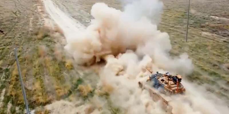 Hareketli tank atış eğitimleri başarıyla gerçekleştirildi