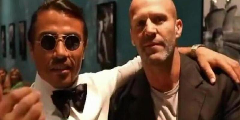 Jason Statham ve Nusret'in tuzlama şovu