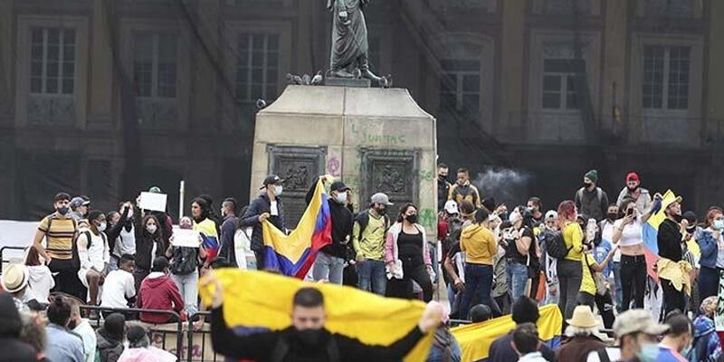 Kolombiya'da vergi reformu karşıtı gösterilerde 5 günde 17 kişi öldü