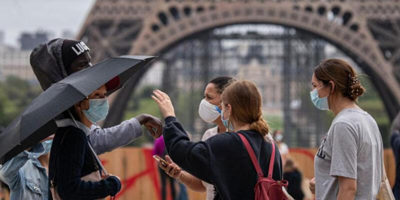 Fransa'da korona bilançosu: Son 24 saatte 24 bin 371 vaka