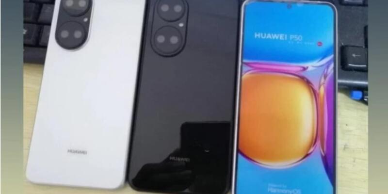 Huawei P50'nin prototipi sızdırıldı