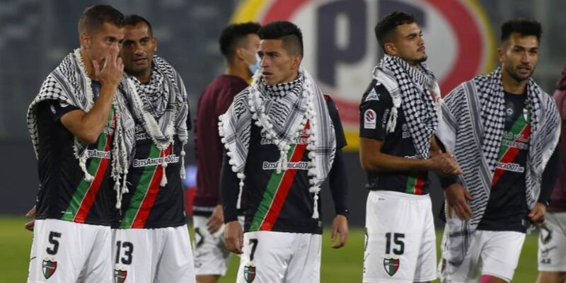 Deportivo Palestino Filistin'e böyle destek oldu