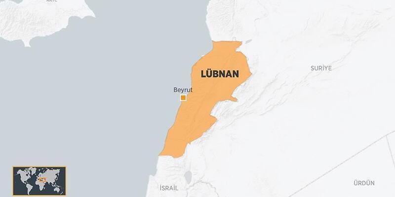 Son dakika: Lübnan nerede? Lübnan İsrail arası kaç kilometre?