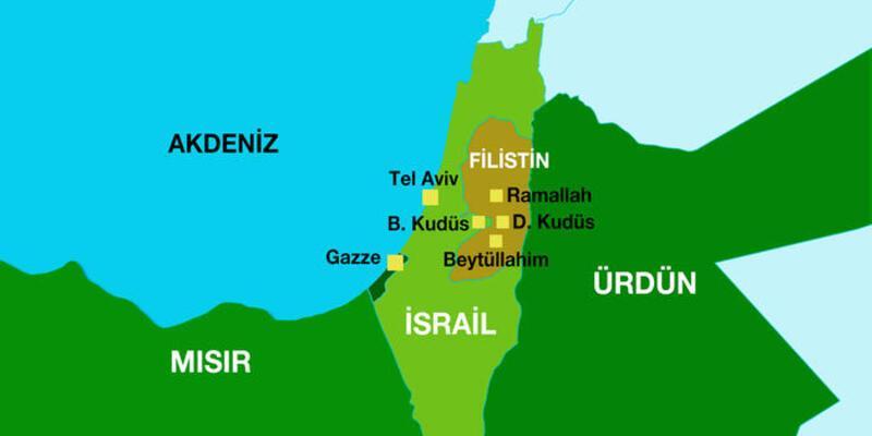 Son dakika: Gazze Şeridi olayı nedir? Gazze nerenin başkenti? Filistin'in başkenti ve Batı Şeria nerededir?