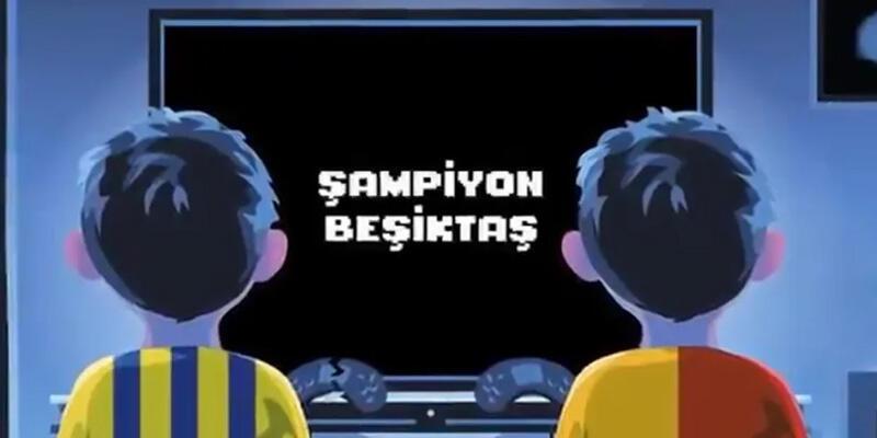 Beşiktaş'tan şampiyonluk videosu: Oyun bitti çocuklar, şimdi gerçekler