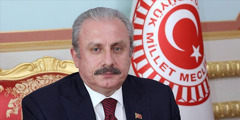 TBMM Başkanı Şentop'tan Çebi'ye tebrik telefonu