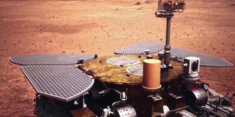 Mars'ta 4. kaşif