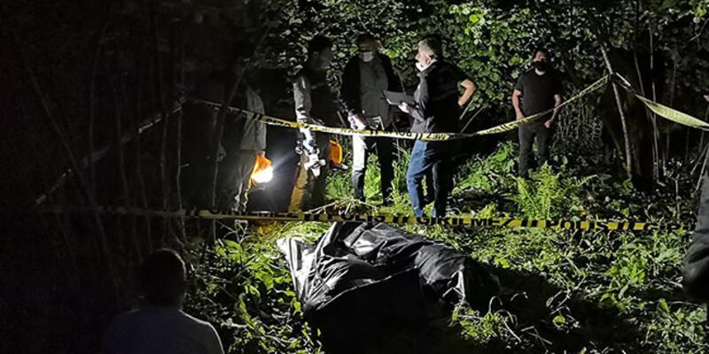 Ordu'da hafif ticari araç dereye yuvarlandı: 2 ölü