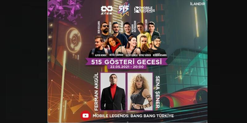 Mobile Legends Bang Bang'ın 515 gösteri gecesine sayılı günler