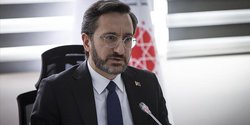 İletişim Başkanı Fahrettin Altun'dan İYİ Parti Genel Başkanı Akşener'e tepki