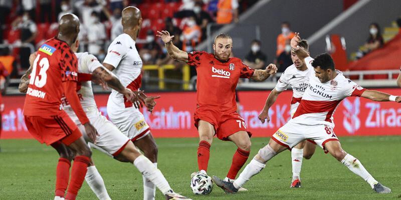 Beşiktaş ve Antalyaspor Süper Kupa'da da karşılaşacak