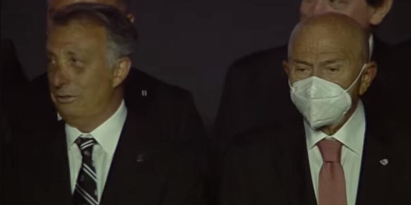 Beşiktaş taraftarı Nihat Özdemir'i ıslıkladı