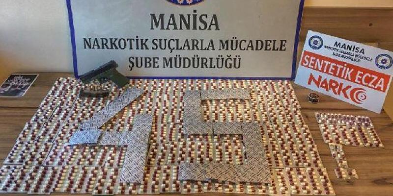 Manisa'da uyuşturucu operasyonu; 3 gözaltı