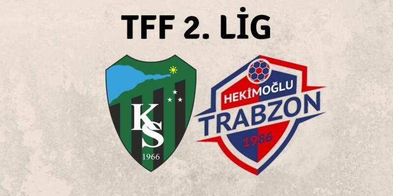 Kocaelispor-Hekimoğlu Trabzon maçında gol sesi çıkmadı