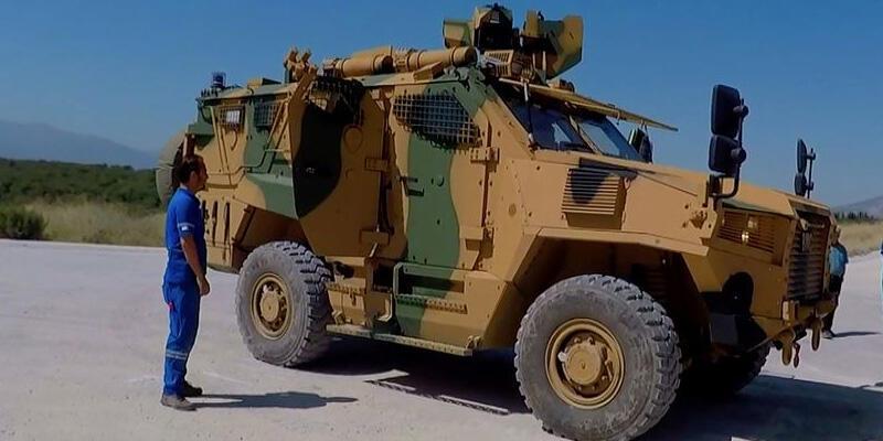 """NATO, """"Vuran"""" adlı Türk zırhlı aracını tanıttı"""