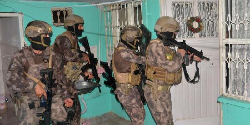 Adana'da suç örgütüne şafak operasyonu