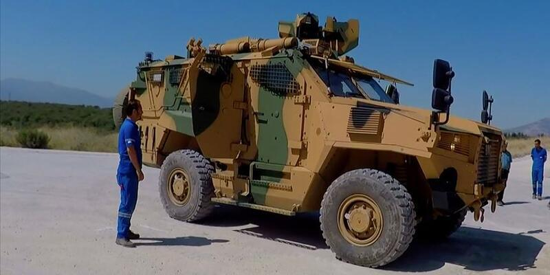 NATO, Türk zırhlısı 'Vuran'ı tanıttı
