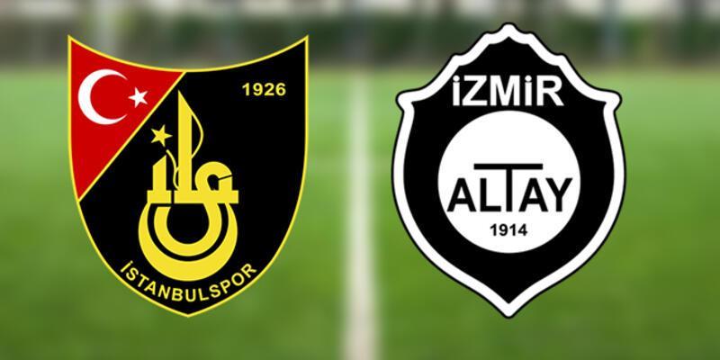 İstanbulspor Altay play off rövanş maçı hangi kanalda, ne zaman, saat kaçta?