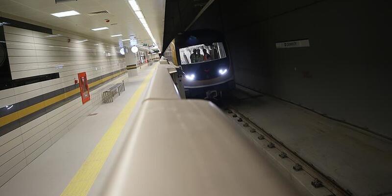 Metro istasyonunda intihar girişimi