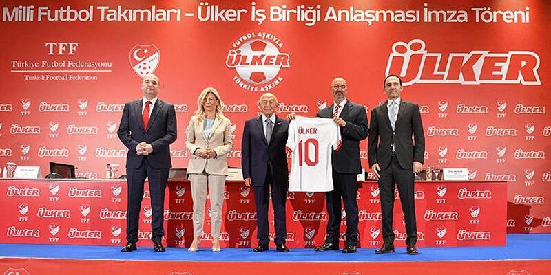 Ülker, Milli Futbol Takımlarının sponsoru oldu