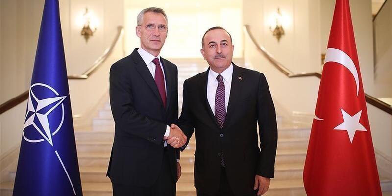 Çavuşoğlu, NATO Genel Sekreteri Stoltenberg ile görüştü